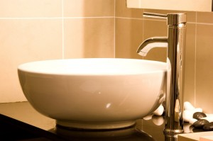 Bathroom Faucet and Vessel Sink