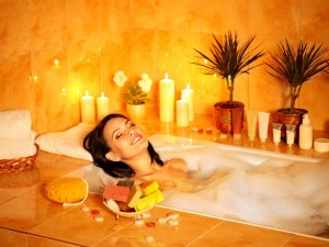 Spa relaxation tub